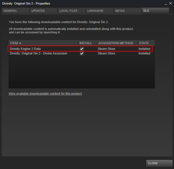 Setup: Editor Steam - Divinity Engine Wiki
